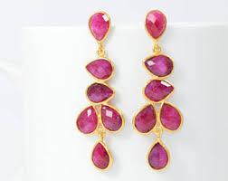 Colorful Chandelier Earrings Chandelier Earrings Etsy
