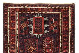 Light Colored Tapestry Antique Baluch Rug With An Interesting And Unusual Design In