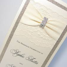 bling wedding programs programs archives lavender paperie