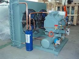 compresseur condensation équipement de réfrigération pour chambre