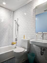 wonderful white subway tile bathroom with tile tikspor
