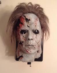 michael halloween mask rob zombie rz halloween 2 half mask exposed spooky fog studios