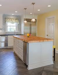 Restoration Hardware Kitchen Cabinets Modern Kitchen Remodel With Elmwood Cabinets And Wolf Duel Range