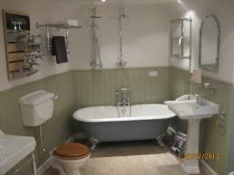 traditional bathroom designs master beige floor freestanding bathtub photo in seattle