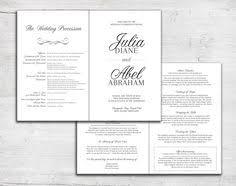 bi fold wedding program deco triangular sides wedding programs fold ceremony program