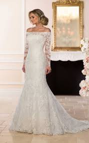 the shoulder wedding dresses wedding dresses stella york