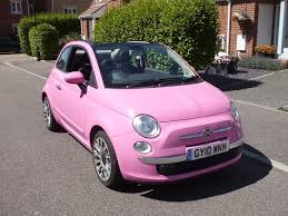 fiat convertible fiat 500c pink limited edition convertible in eastbourne east