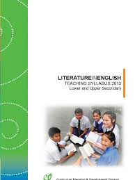 englishliterature in english lower secondary 2013 educational