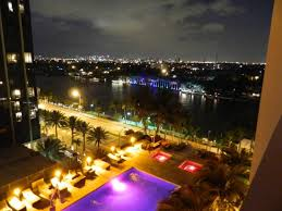 imagenes miami de noche vista de noche desde la habitacion picture of grand beach hotel