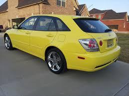 lexus is300 solar yellow 02 yellow sportcross lexus is forum