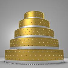 goldene hochzeitstorte goldene hochzeitstorte stock abbildung bild 40234816