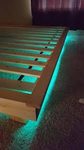 how to make a modern platform bed for under 100 platform beds