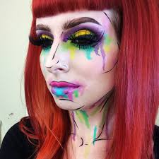 Unicorn Halloween Makeup by Unicorn Artistic Makeup English Youtube