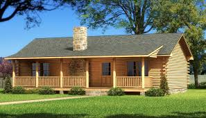1 Story Open Floor House Plans by Single Story Log Home Plans Webshoz Com