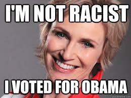 I Voted Meme - i m not racist i voted for obama average racist quickmeme