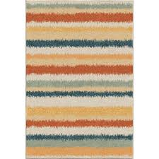 Rug Color 3836 5x8 Orian Rugs 3836 5x8 Bright Color Abstract Beach House