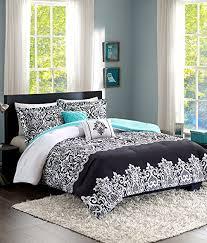 Comforter Sets For Teens Bedding by Amazon Com Teen Bedding Damask Girls Comforter Black White