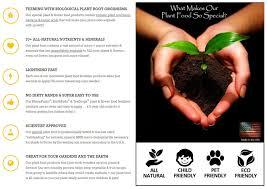 best plant food u0026 flower fertilizer for 100 natural organic gardening