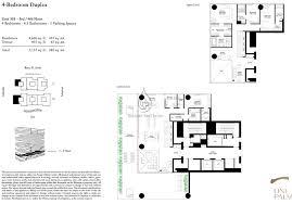 one palm jumeirah floor plan