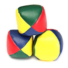 clowns juggling balls 1pcs colorful juggling balls clown juggler performance tool magic