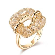 gold wire rings images Mytys costume jewelry fashion rose gold statement ring jpg