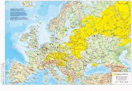 Russia Map Incidents Of Tick Borne Encephalitis In Europe East Asia And