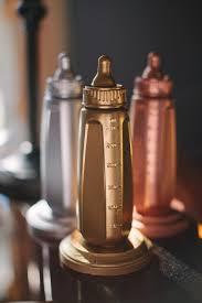 unique baby shower ideas unique baby shower idea bottle trophy