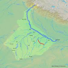 Brahmaputra River On Map National River Linking Project Dream Or Disaster