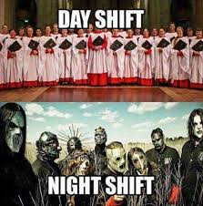Night Shift Memes - meme day shift vs night shift protectandserve