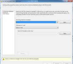 sql server import csv file into database table using ssis sql