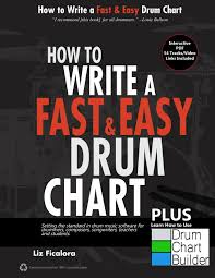music to write a paper to how to books on charting easy drum chart