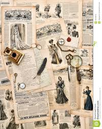 old style writing paper antique office supplies old letters writing tools vintage fas royalty free stock photo