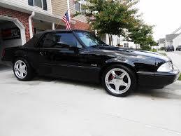 Black Mustang Lx Pics Of My 70mm On3 Turbo Triple Black 93 Fox Body Ford Mustang