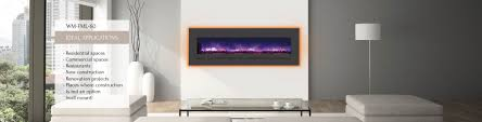 Electric Fireplace For Wall by Sierra Flame Contemporary Gas And Electric Fireplaces