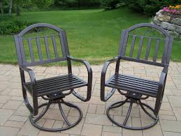 Green Wrought Iron Patio Furniture by Furniture Stackable Outdoor Chairs And Best Swivel Patio Chairs
