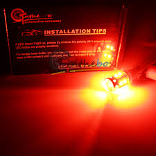 Led Car Lights Bulbs by 2pcs High Power Red 50w Cree 120 Bay9s H21w 64136 Car Auto Led