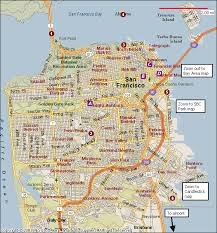 san francisco map san francisco map