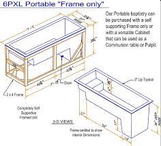 portable baptismal pool portable baptistry portable baptistries portable baptismal pool