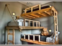 bedroom tripple bunk bed triple bunk beds triple bunk bed plans