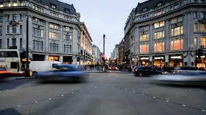 london uk 23 11 2016 regent street london hyperlapse time
