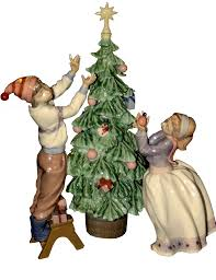 christmas tree figurine transparent image