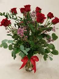 dozen roses 1 dozen roses arranged in st louis mo ken miesner s flower shoppe