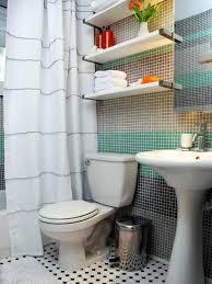 Hgtv Bathroom Makeover Soft Neutral Shower Curtains Hgtv