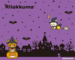 free cute halloween background kawaii halloween