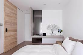 porte de chambre en bois design interieur chambre scandinave porte coulisssante bois clair