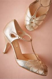 wedding shoes and accessories glittered mimosa t straps in shoes accessories bhldn