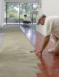 Hardwood Floor On Concrete Glue Wood Flooring To A Concrete Slab Homebuilding