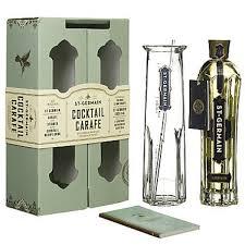 liquor gift sets send a bottle of st germain elderflower liqueur in a le cadeau
