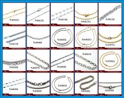 necklace chains types images Types of gold chains for necklace traumspuren jpg