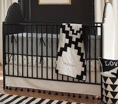 Black Convertible Cribs Millie Convertible Crib Pottery Barn